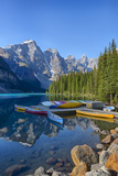 Canada  Banff NP  Valley of the Ten Peaks  Moraine Lake  Canoe Dock