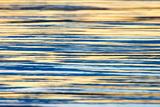 Water Ripples at Sunset  Inle Lake  Shan State  Myanmar