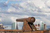 Cannon in Forte Do Castelo  Belem  Para State  Brazil