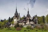 Romania  Transylvania  Sinaia  Peles Castle  Built 1875-1914