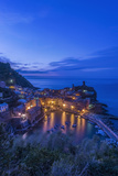 Italy  Cinque Terre  Vernazza at Dawn