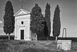 Italy  Tuscany Vitaleta Chapel in the Val d'Orcia