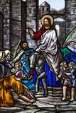 Romania  Transylvania  Greco-Catholic Cathedral  Stained Glass Window
