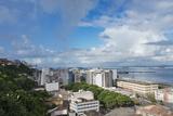 Cityscape Along the Ocean  Salvador  Bahia State  Brazil