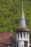 Romania  Transylvania  Sinaia  Antique Resort Building