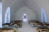 Ice Hotel Church  Jukkasjarvi  Northern Sweden