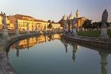 Italy  Veneto  Padova District  Statues and Basilica di Santa Giustina