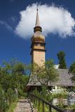 Romania  Maramures Region  Laschia  Wooden Village Church