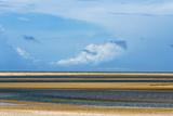 Sand Dune and Lagoon  Lencois Maranheinses NP  Maranhao State  Brazil