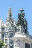 Portugal  Oporto  Liberty Square  Statue of King Pedro Iv