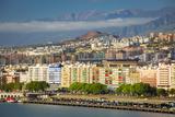 Morning Sunlight over Santa Cruz de Tenerife  Canary Islands  Spain