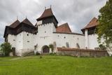 Romania  Transylvania  Viscri  Fortified Saxon Church