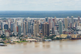 Aerial View of Belem on Amazon River  Para State  Brazil
