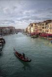Gondolas Along the Canals of Venice  Italy