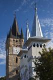 Romania  Baia Mare  St Stephans Tower and St Nicholas Orthodox Church