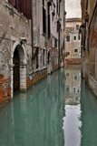 Canal and Doorways Venice, Italy Papier Photo par Darrell Gulin