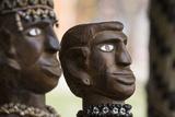 Melanesia  Solomon Islands  Guadalcanal Island Wood Carved Figurine
