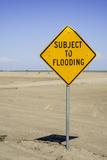 California  San Joaquin River Valley  Angiola  Warning Sign