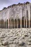 USA  California  Mono County Volcanic Rock Pillars