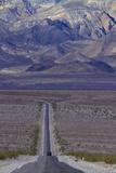 SR 190 Through Death Valley NP  Mojave Desert  California