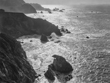 USA, California, Big Sur Coast Papier Photo par John Ford