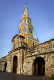 Clock Tower  Plaza de La Paz  Old City  Cartagena  Colombia