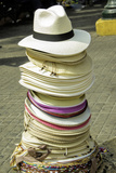 Hats for Sale in the Old City  Cartagena  Colombia