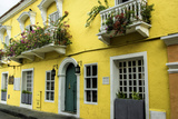 Architecture in the San Diego Part of Old City  Cartagena  Colombia