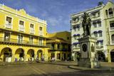 Pedro de Heredia  Plaza de Los Coches  Old City  Cartagena  Colombia