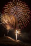 USA  Colorado  Salida July 4th Fireworks Display