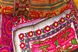Mexico  Jalisco Textiles for Sale at Street Market