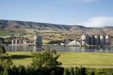 USA  Washington  Whitman County  View across Clearwater River