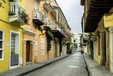 Architecture in the San Diego Section  Cartagena  Colombia
