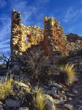 Ruins Cutthroat Castle Ancestral Puebloan Hovenweep NM  Colorado