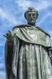 Europe  Spain  Salamanca  Statue of Frei Luis de Leon