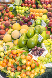 Europe  Spain  Barcelona  St Josep La Boqueria  Food Market  Fruit