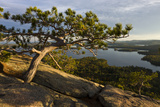 Squam Lake from West Rattlesnake Mountain  Holderness  New Hampshire