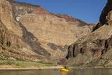 USA  Arizona  Grand Canyon National Park Kayakers on Colorado River