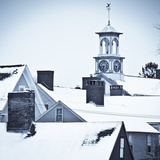 Roof Tops in Winter in Portsmouth New Hampshire's South End