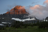 USA  Montana  Glacier National Park Sunrise on Reynolds Mountain