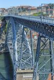 Europe  Portugal  Oporto  Douro River  Dom Luis I Bridge