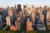 Cityscape of Midtown Manhattan  New York  USA