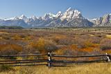 Autumn  Cunningham Cabin Area  Grand Tetons  Grand Teton NP  Wyoming