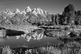 USA  Wyoming  Grand Teton National Park Mountain Sunrise