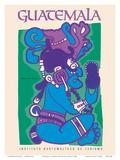 Guatemala - Itzamna  Dios de Los Cielos (God of the Heavens) - Mayan God