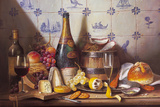Delft Tiles and Fine Champagne