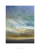Coastal Clouds Triptych I