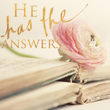 He has the Answers (gold foil)