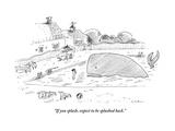 """If you splash  expect to be splashed back"" - New Yorker Cartoon"