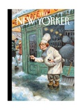 Just a Pinch - The New Yorker Cover  January 27  2014